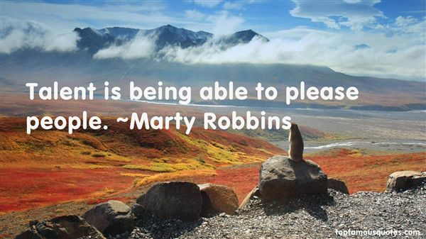 Marty Robbins Quotes
