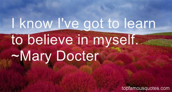 Mary Docter Quotes