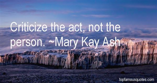 Mary Kay Ash Quotes