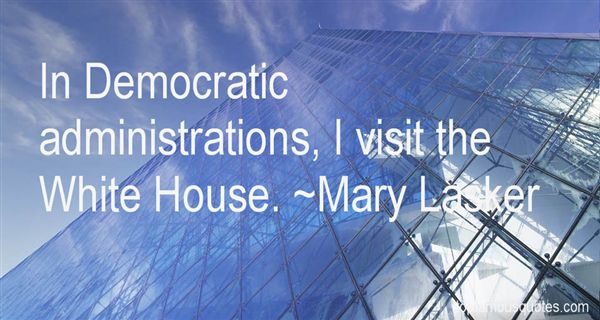 Mary Lasker Quotes