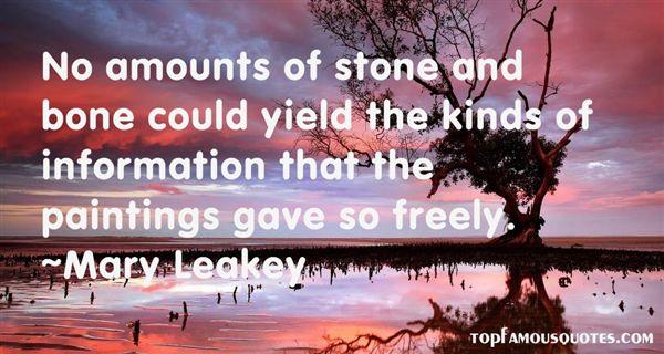 Mary Leakey Quotes