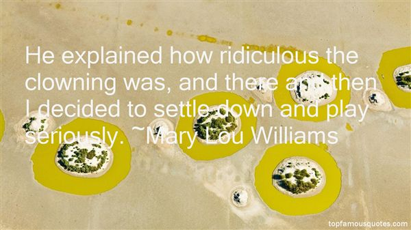 Mary Lou Williams Quotes