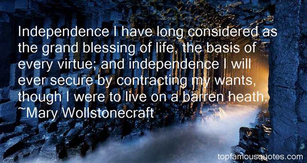 Mary Wollstonecraft Quotes