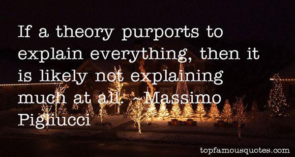 Massimo Pigliucci Quotes