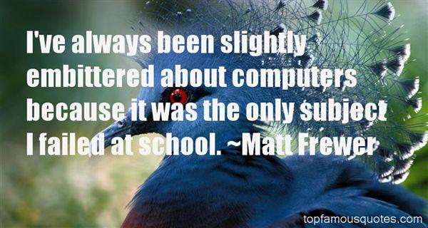 Matt Frewer Quotes