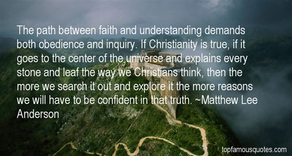 Matthew Lee Anderson Quotes