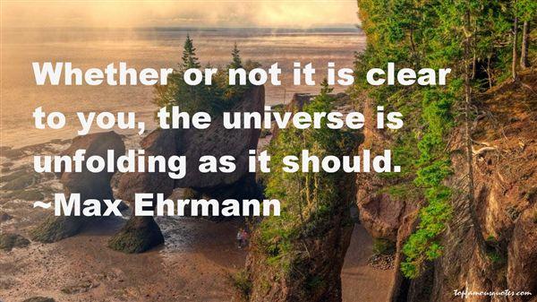 Max Ehrmann Quotes