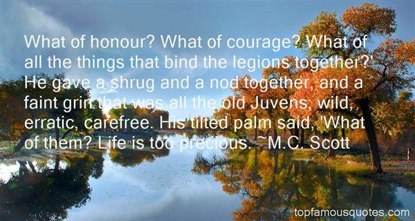M.C. Scott Quotes