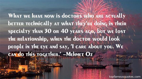 Mehmet Oz Quotes