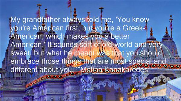 Melina Kanakaredes Quotes