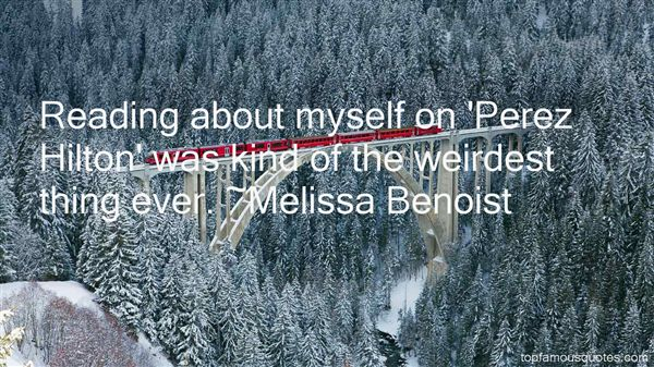 Melissa Benoist Quotes