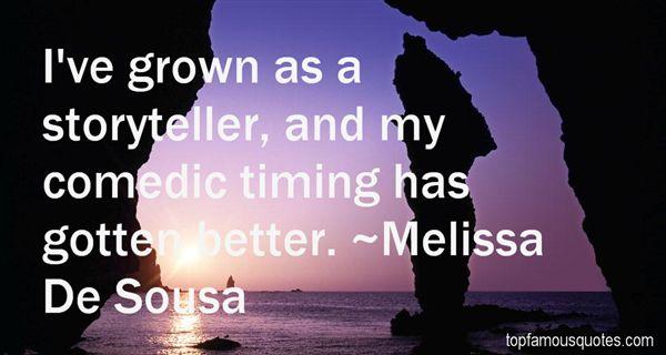 Melissa De Sousa Quotes