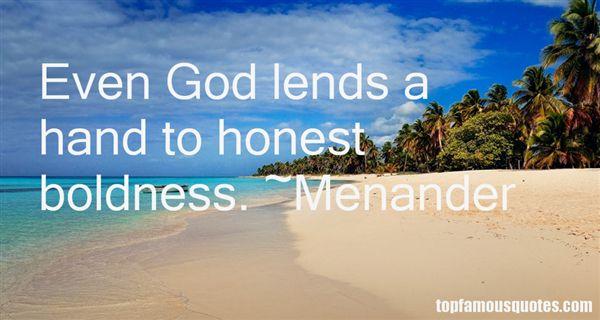 Menander Quotes
