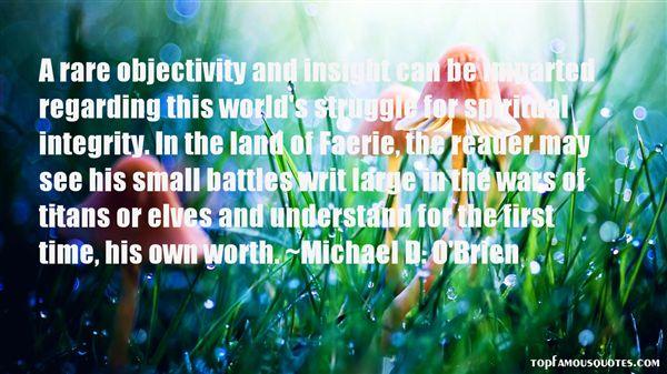 Michael D. O'Brien Quotes