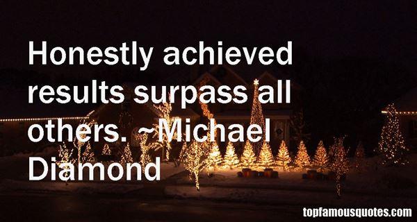 Michael Diamond Quotes