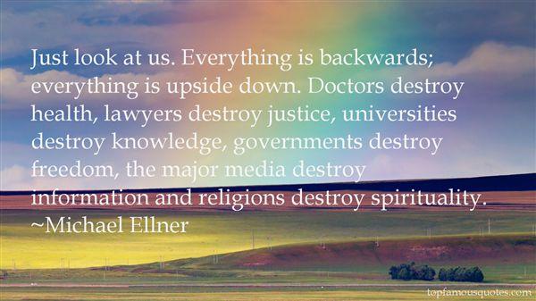 Michael Ellner Quotes