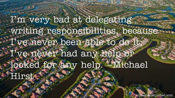 Michael Hirst Quotes