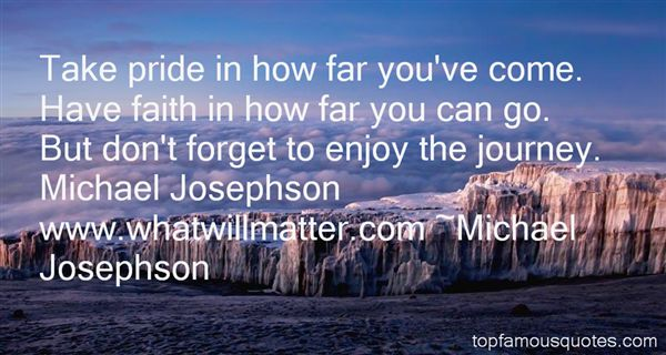 Michael Josephson Quotes