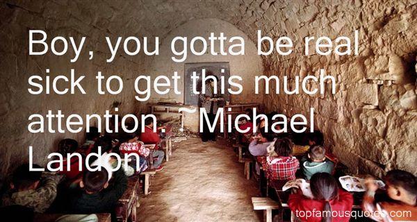 Michael Landon Quotes
