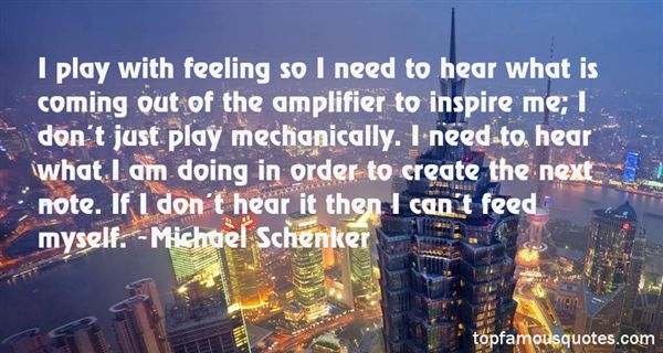 Michael Schenker Quotes