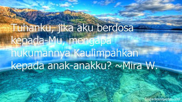 Mira W. Quotes