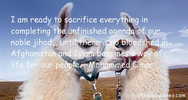 Mohammed Omar Quotes