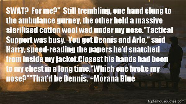 Morana Blue Quotes
