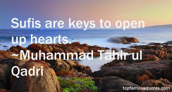 Muhammad Tahir Ul Qadri Quotes