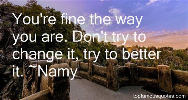 Namy Quotes