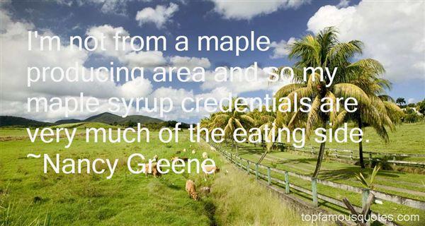 Nancy Greene Quotes