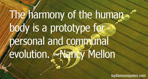 Nancy Mellon Quotes