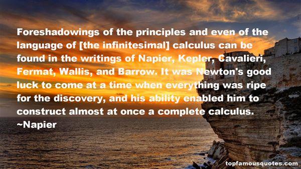 Napier Quotes