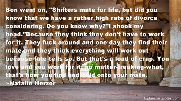Natalie Herzer Quotes