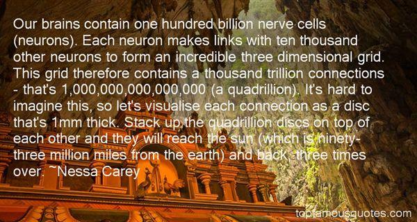 Nessa Carey Quotes