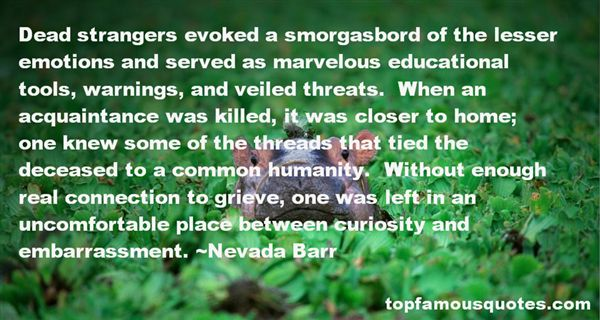 Nevada Barr Quotes