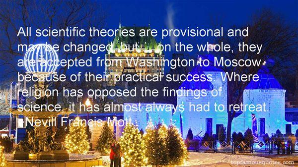 Nevill Francis Mott Quotes