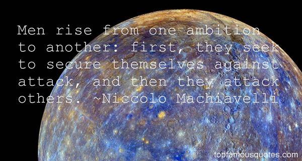 Niccolò Machiavelli Quotes