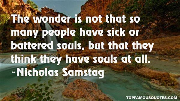 Nicholas Samstag Quotes