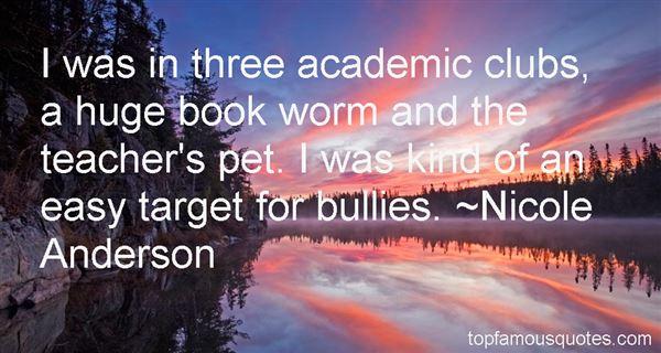 Nicole Anderson Quotes