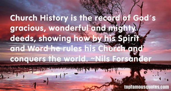 Nils Forsander Quotes