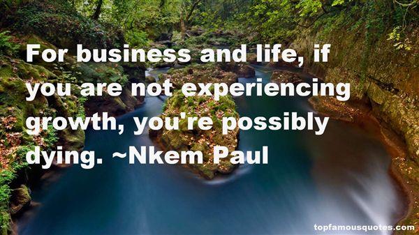 Nkem Paul Quotes