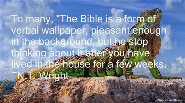 N.T. Wright Quotes