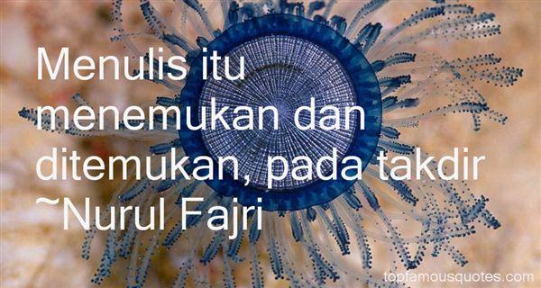 Nurul Fajri Quotes