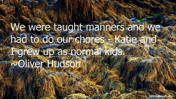 Oliver Hudson Quotes