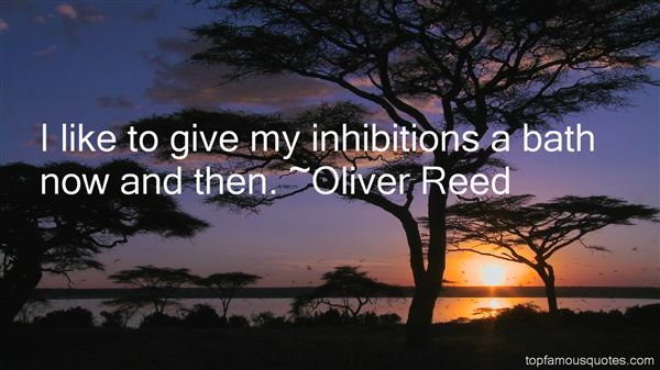 Oliver Reed Quotes