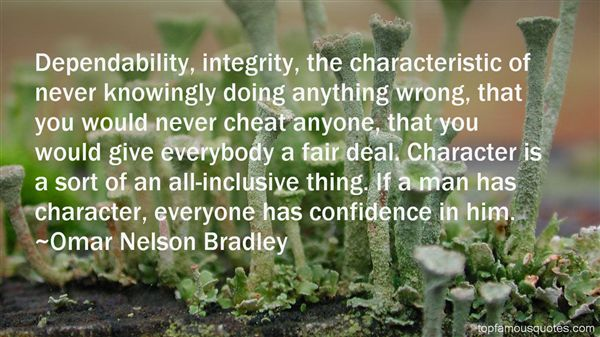 Omar Nelson Bradley Quotes