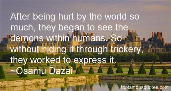 Osamu Dazai Quotes