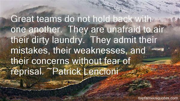 Patrick Lencioni Quotes