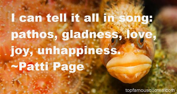 Patti Page Quotes