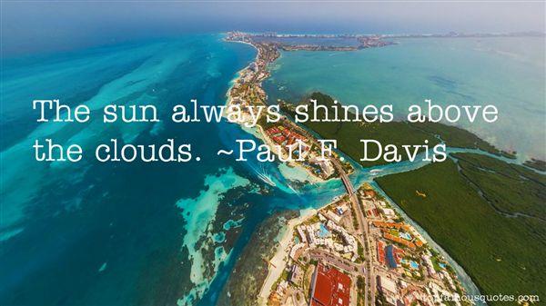 Paul F. Davis Quotes